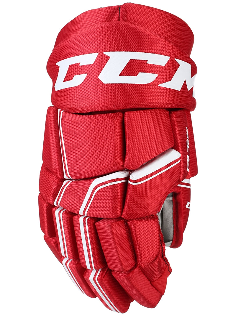 CCM rukavice QuickLite 250 red white SR - HOKEJ OBCHOD 41c36970b0
