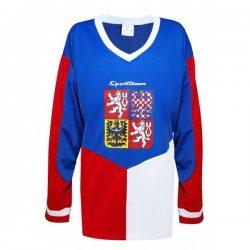 d85ee0b76b9 SPORTTEAM hokejový dres ČR bílý - HOKEJ OBCHOD